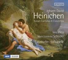 Johann David Heinichen (1683-1729): Italienische Kantaten & Konzerte, CD