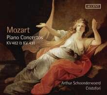 Wolfgang Amadeus Mozart (1756-1791): Klavierkonzerte Nr.22 & 24, CD