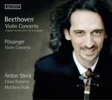 Ludwig van Beethoven (1770-1827): Violinkonzert op.61 (Ersteinspielung der Urfassung), CD