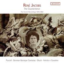 Rene Jacobs - The Counter Tenor, 5 CDs
