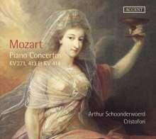 Wolfgang Amadeus Mozart (1756-1791): Klavierkonzerte Nr.9,11,12, CD