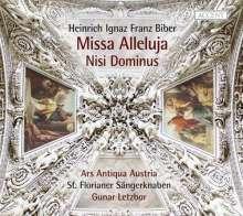 Heinrich Ignaz Biber (1644-1704): Missa Alleluja a 36, CD