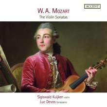 Wolfgang Amadeus Mozart (1756-1791): Sonaten für Violine & Klavier, 5 CDs