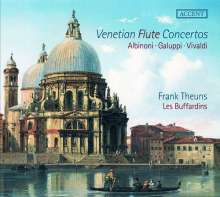 Venetian Flute Concertos, CD