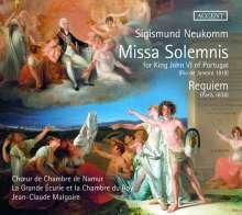 Sigismund Ritter von Neukomm (1778-1858): Missa Solemnis for King John VI of Portugal (Rio de Janeiro, 1818), 2 CDs