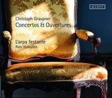 Christoph Graupner (1683-1760): Ouvertüren a-moll GWV 322 & g-moll BWV 470, CD