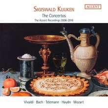 Sigiswald Kuijken - The Concertos (Accent Recordings 2006-2016), 10 CDs