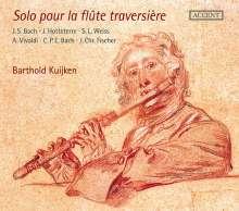 Barthold Kuijken - Solo pour la flute traversiere, CD