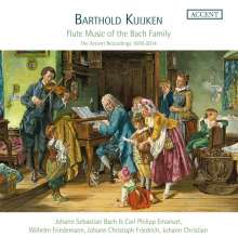 Barthold Kuijken - Flute Music of the Bach Family (The Accent Recordings 1978-2014), 8 CDs