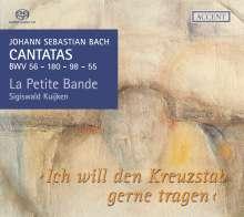 Johann Sebastian Bach (1685-1750): Kantaten BWV 55,56,98,180, Super Audio CD