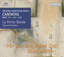 Johann Sebastian Bach (1685-1750): Kantaten BWV 93,135,177, Super Audio CD