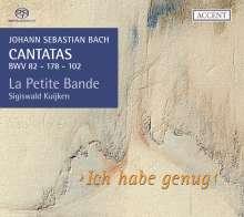 Johann Sebastian Bach (1685-1750): Kantaten BWV 82,102,178, SACD
