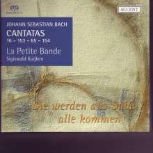 Johann Sebastian Bach (1685-1750): Kantaten BWV 16,65,153,154, Super Audio CD