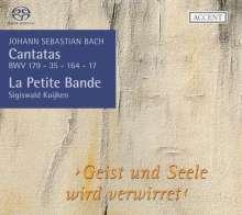 Johann Sebastian Bach (1685-1750): Kantaten BWV 17,35,164,179, SACD