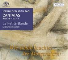 Johann Sebastian Bach (1685-1750): Kantaten BWV 1,18,23, SACD