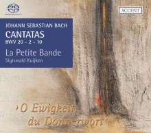 Johann Sebastian Bach (1685-1750): Kantaten BWV 2,10,20, Super Audio CD