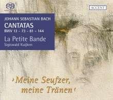 Johann Sebastian Bach (1685-1750): Kantaten BWV 13,73,81,144, SACD