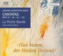 Johann Sebastian Bach (1685-1750): Kantaten BWV 36,61,62,132, SACD