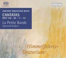 Johann Sebastian Bach (1685-1750): Kantaten BWV 11,44,86,108, SACD