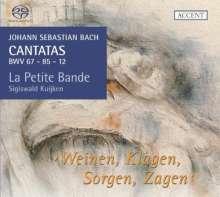 Johann Sebastian Bach (1685-1750): Kantaten BWV 12,67,85, Super Audio CD