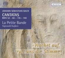 Johann Sebastian Bach (1685-1750): Kantaten BWV 52,60,116,140, SACD