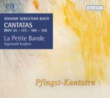 Johann Sebastian Bach (1685-1750): Kantaten BWV 34,129,173,184, SACD
