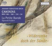 Johann Sebastian Bach (1685-1750): Kantaten BWV 54,134,168,186, Super Audio CD