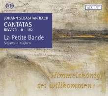 Johann Sebastian Bach (1685-1750): Kantaten BWV 9,70,182, Super Audio CD