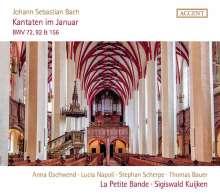 Johann Sebastian Bach (1685-1750): Kantaten BWV 72,92,156, CD