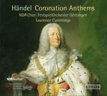 Georg Friedrich Händel (1685-1759): Coronation Anthems, CD