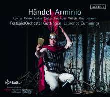 Georg Friedrich Händel (1685-1759): Arminio, 3 CDs