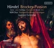 """Georg Friedrich Händel (1685-1759): Passion nach Brockes HWV 48 """"Der für die Sünden der Welt gemarterte und sterbende Jesus"""", 2 CDs"""