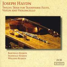 Joseph Haydn (1732-1809): Flötentrios H4 Nr.6-11 (op.100), 2 CDs
