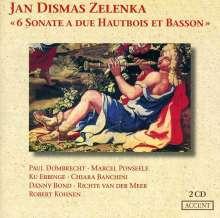 Jan Dismas Zelenka (1679-1745): Triosonaten Nr.1-6, 2 CDs