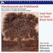 Peter Arnold spielt Hornkonzerte, CD