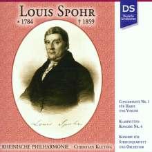 Louis Spohr (1784-1859): Concertante Nr.1 f.Violine,Harfe & Orchester, CD