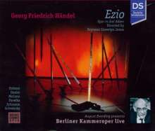 Georg Friedrich Händel (1685-1759): Ezio (in dt.Spr.), 2 CDs