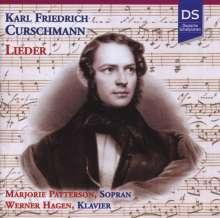 Karl Friedrich Curschmann (1805-1841): Lieder, CD