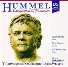 Johann Nepomuk Hummel (1778-1837): Variationen & Fantasien, CD