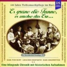 Es grüne die Tanne, es wachse das Erz... (100 Jahre Volksmusikpflege im Harz), CD