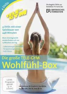 Die große Tele-Gym Wohlfühl-Box, 4 DVDs
