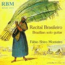 Fabio Shiro Monteiro - Recital Brasileiro, CD