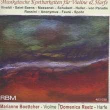 Musikalische Kostbarkeiten für Harfe & Violine, CD