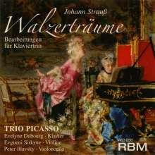 Johann Strauss II (1825-1899): Walzer für Klaviertrio, CD