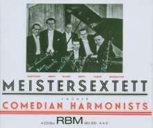 Meister-Sextett: Edition Comedian Harmonists, 4 CDs