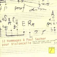 David Geringas - Hommages a Sacher, CD