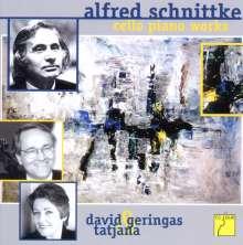 Alfred Schnittke (1934-1998): Sämtliche Werke für Cello & Klavier, CD