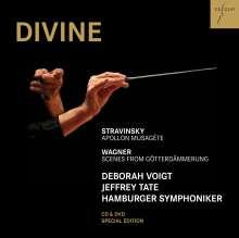 Deborah Voigt - Divine, 1 CD und 1 DVD