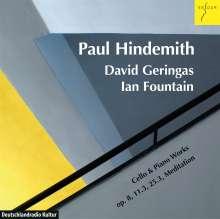 Paul Hindemith (1895-1963): Werke für Cello & Klavier, CD