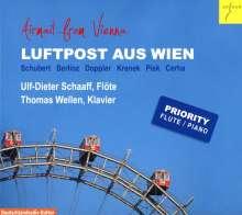Ulf-Dieter Schaaf & Thomas Wellen - Luftpost aus Wien, CD
